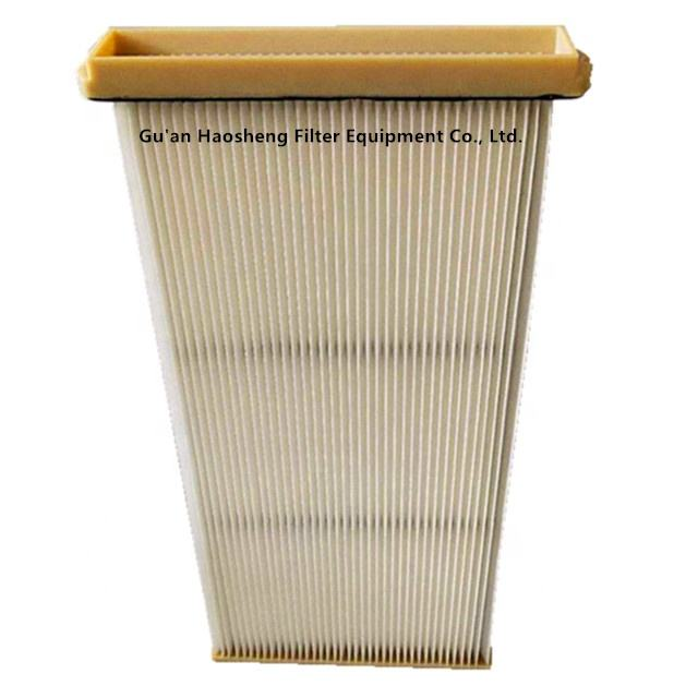 Industrial air filter replacement for air purifier filter element KFEW3007PPVE flat panel air filter
