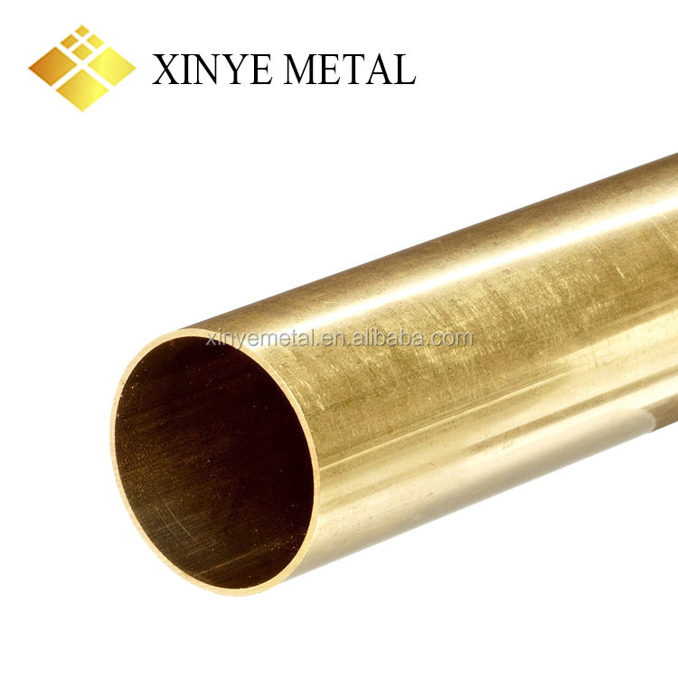 Standard Thin Wall Large Diameter Brass Tube Pipe