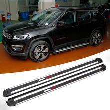 Wholesale universal side step used for JEEP Grand Cherokee/Cherokee/compass/Renegade body kit
