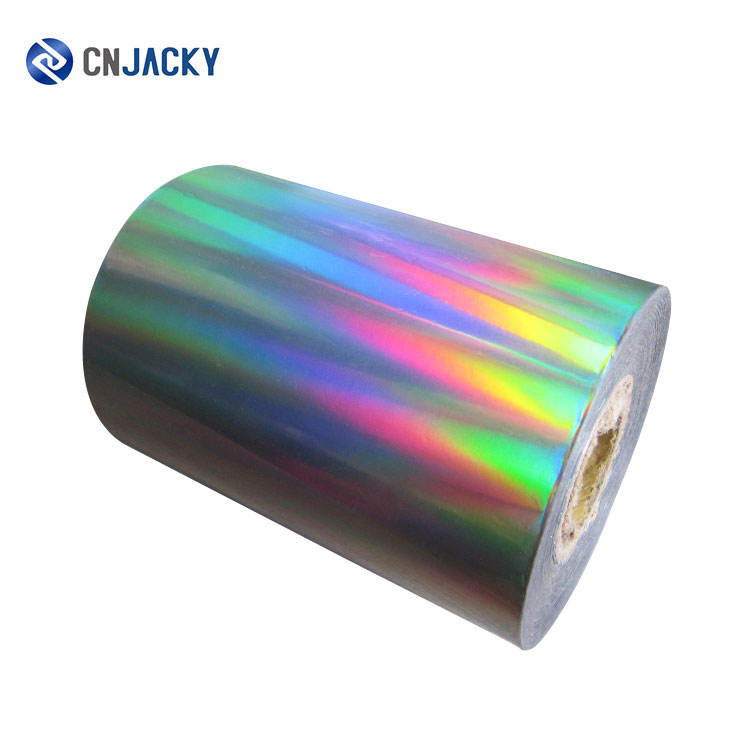 3D Holographic Silver Backing Laser Hot Stamping Foil for Card Making