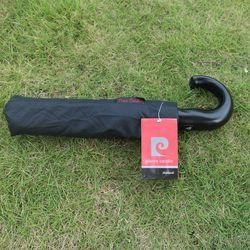 High Quality Three Folding Semi-automatic Pierre Cardin Umbrella