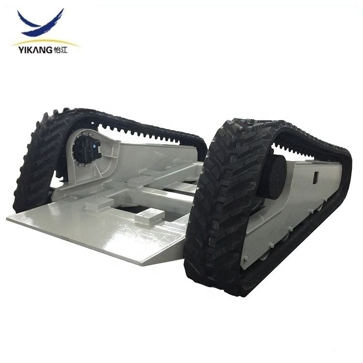 Custom crawler skid steer loader parti mini cingoli in gomma carro