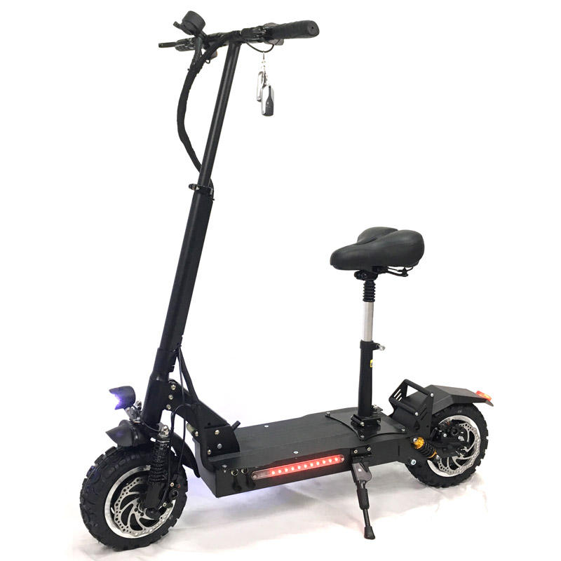 Powerful Electric Scooter 60V 5600W 11inch Off Road Big Wheel fast charge Motor e scooter kick Foldable adults Scooters