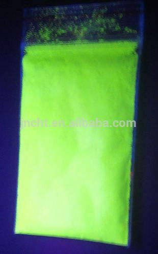 Uv invisibile pigmento/uv fluorescenti in polvere gialla