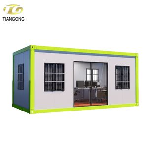 ISO certification light steel container homes container house prefab house