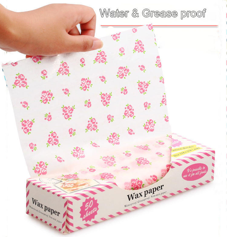 Fulton Printed Pattern Tissue Wrapping Paper Waterproof Greaseproof Food Wrap