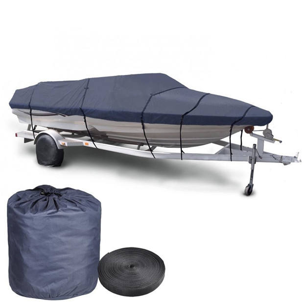New Boat Cover 600D Breathable Waterproof Fabric Boat Cover