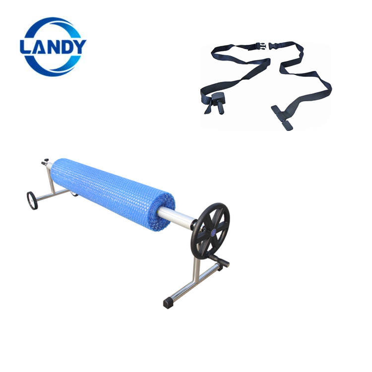 Roller type good weight bearing Z shape swimming pool cover roller equipment