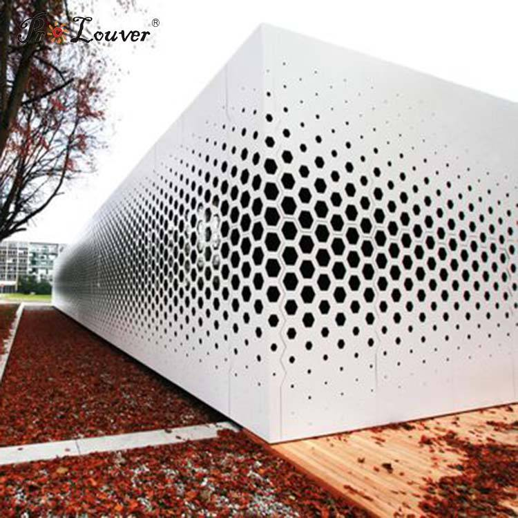 Building Decoration PVDF Coating Perforated Aluminum Sheet Metal