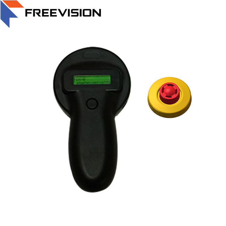 Freevision USB 125/134.2Khz Animal microchip tragbare chip reader hand gehalten rfid <span class=keywords><strong>leser</strong></span>