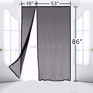 2020 New Magnetic patio door mesh screen