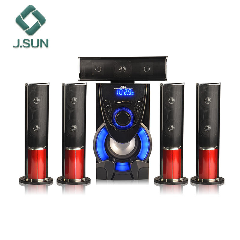 BT portátil digital usb home theater dj orador fase ativa