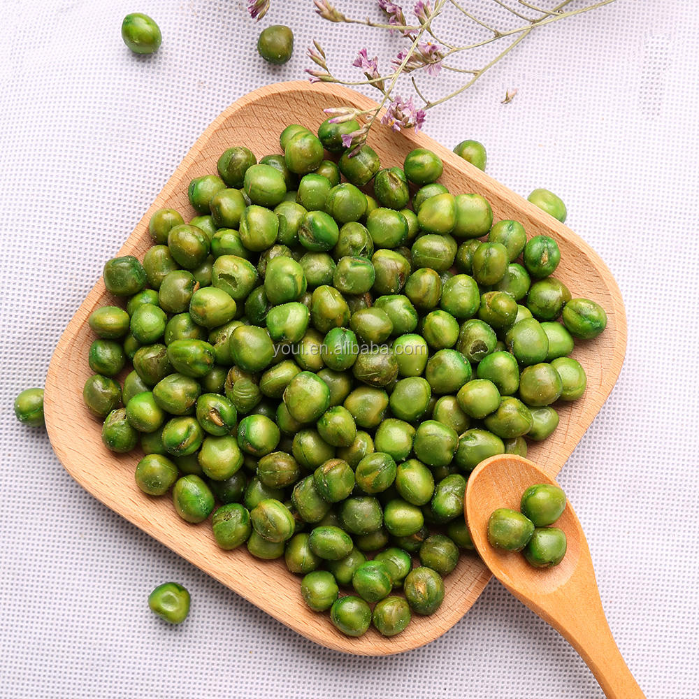 Dried Fried Salted Green Peas Brands, best peas with BRC, HALAL,BRC,green peas snacks