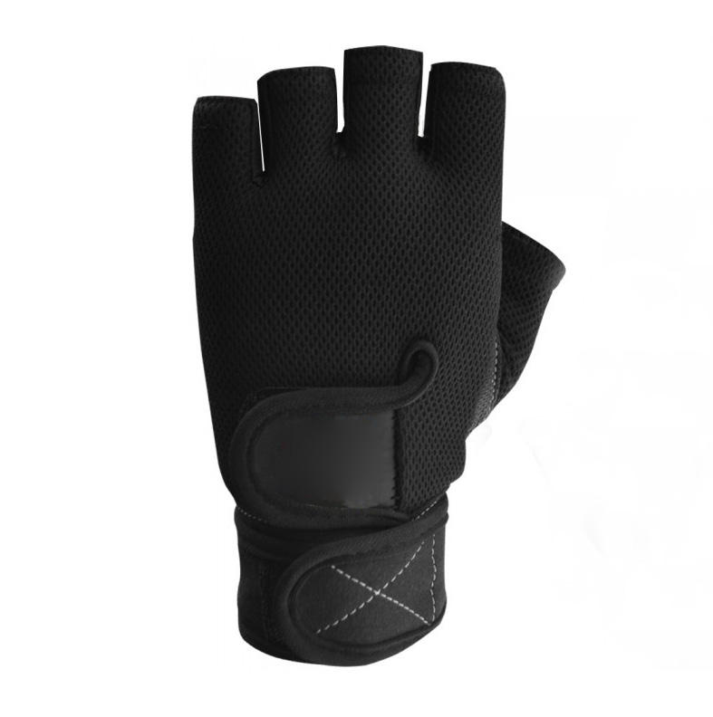 Custom gym weight lifting gloves leather skeleton weight lifting gloves