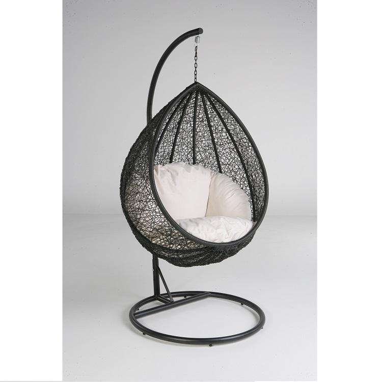 Patio Rttan/Wicker Furniture Egg Shape Swing Chair/ Garden Hanging Chairs