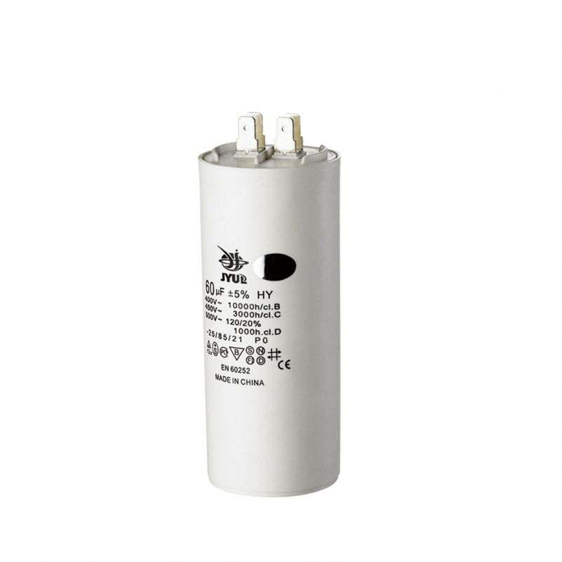 60+60uF//MFD certificado por UL SH P0 50//60Hz CBB60 ejecutar Condensador Aire Acondicionado 250VAC 250V