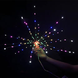 LED Firework Fairy Lights,8 Modes Dimmable Led String Lights