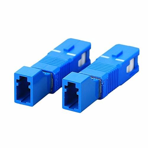 Optical fiber sc male to lc female adapter