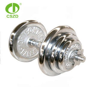 Top quality wholesale 10kg adjustable dumbbell set for sale