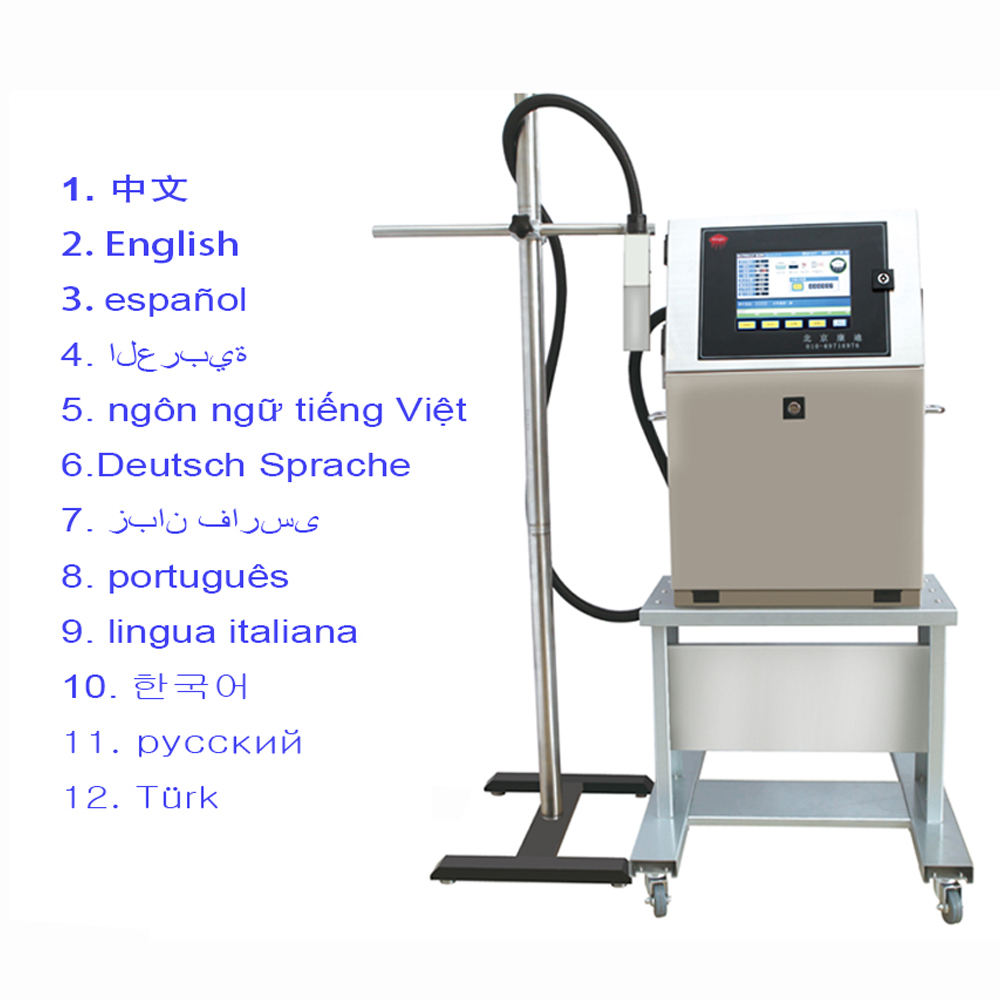 믿음 새 Design Easy Operation 산업 CIJ 잉크젯 Coding Printer 에 Plastic Bag