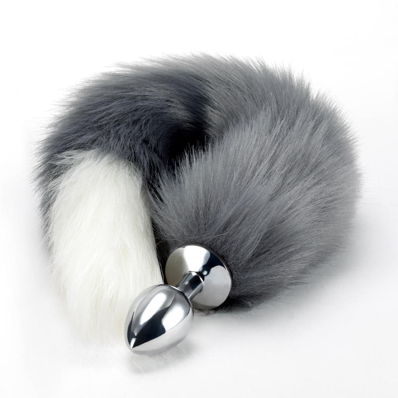Wolf tail and ears tail butt plug furry wolf tail wolf