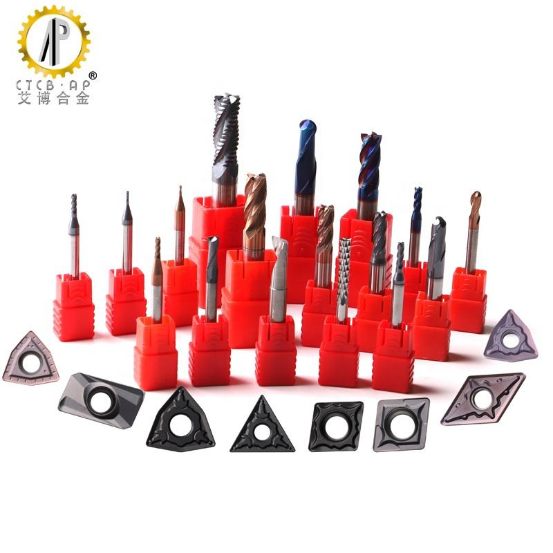 Hard Alloy Tungsten Carbide CNC Lathe Machining Turning Milling Grooving Drilling Threading Cutting Tools