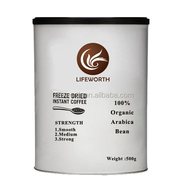 Cafe Direct Freeze Dried Organic Instant Coffee 50g/100g/190g