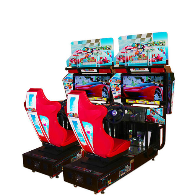 Coin Operated Storm Racer G Video Arcade Racing Game Machine For Sale Arcade Games Car Race Game