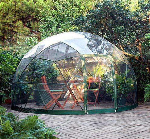 Tenda dome igloo geodesic jardim da china fabricante para venda