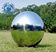 Large Mirror Balls Floating Mirror Ball Inflatable Silver Reflective Balloon For Advertising