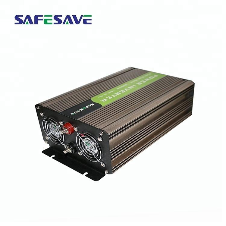 High quality 12/24/48VDC to 220Vac 1000W pure sine wave power inverter