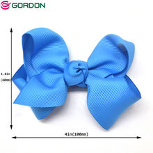 Grosgrain Ribbon Boutique Girls Baby Hair Bows Clips Grosgrain Hair Bows With Alligator Hair Clip Accessories