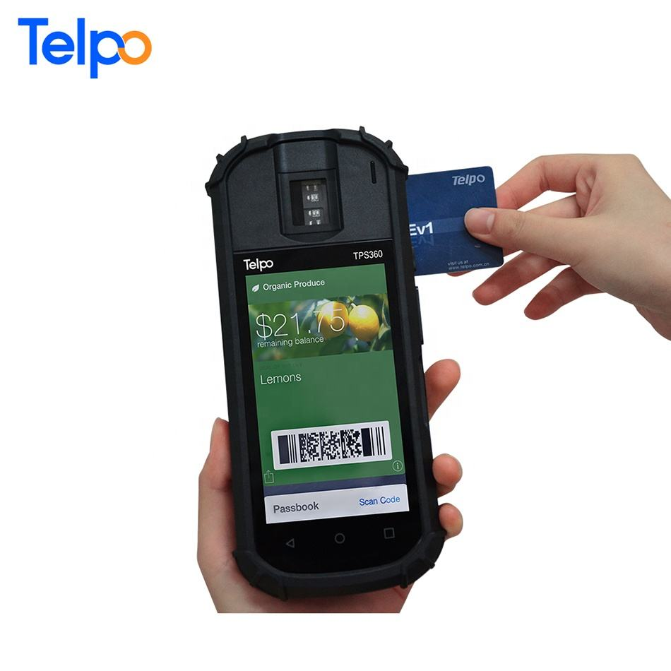 Handheld terminal industry 1D 2D android barcode scanner wifi 3g 4g FLASH 64G logistics pda