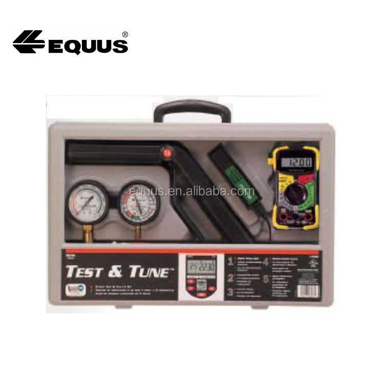 5 -piece complete tune-up kit including digital multimeter fuel pump tester