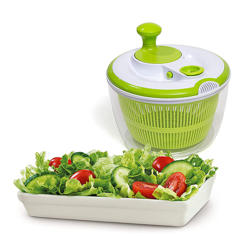 OEM Commercial Large Capacity Multifunction Plastic Multifunction Salad Spinner