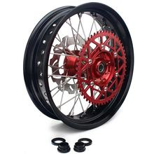 17 inch full set Aluminum alloy motorcycle wheels for HONDA
