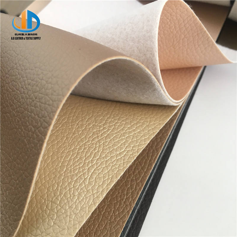 Customized colorful soft feeling PVC imitation leather for furniture home decoration