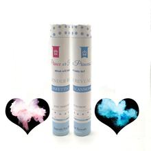 ECO-friendly Gender Reveal Confetti Cannon with Biodegradable Confetti and Powder for Baby Shower Party Supplies
