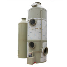 desulfurization detergent water spray cleaning gas absorption tower Acid fume Scrubber adsorption towers
