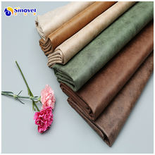 Hot sale knitted plain sofa upholstery fabric bronzing suede sofa fabric