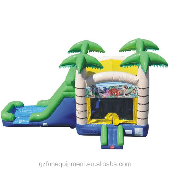 Large jumper bouncy castle inflatable bouncer house with slide for sales