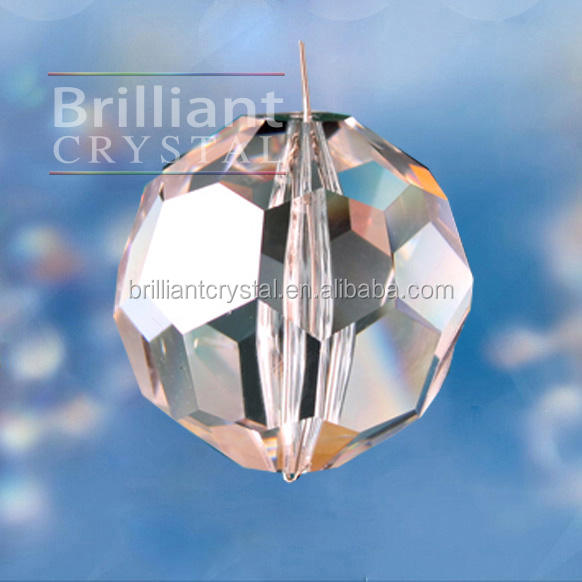 32 Faceted k9 crystal balls for chandelier parts accessories brilliant cut