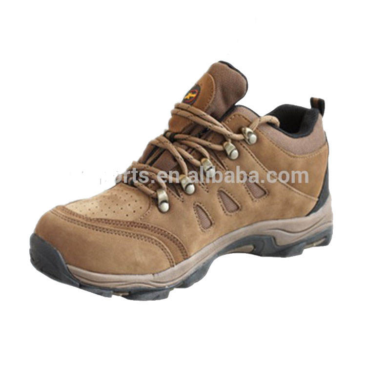 leather upper mens camel hiking shoes ankle hiking shoe