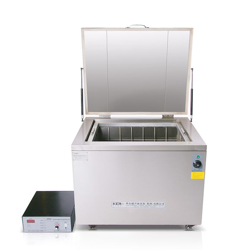 Industrial engine block ultrasonic cleaner