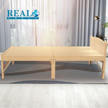 Modern simple design murphy wooden folding bed space saving bed cot