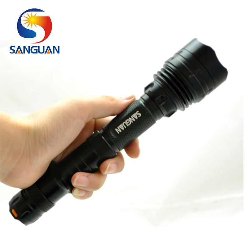 Fishing Spear Gun Tactical 1000lm Extensible T6 Rechargeable Flashlight SG-ST80