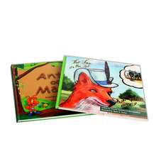 Hot sale costom English learning story children book printing