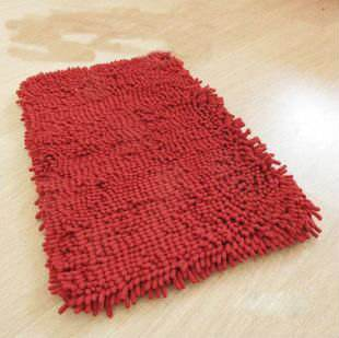 Microfibre chenille <span class=keywords><strong>2012</strong></span> luxueux. anti- glissement. tapis