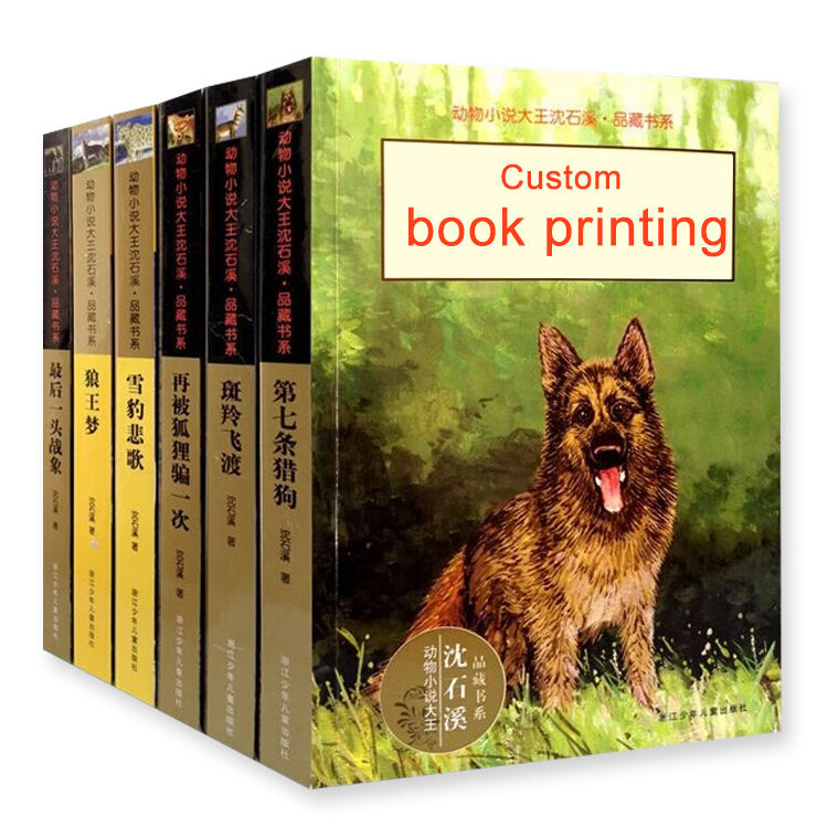 Custom amazon cheap paperback book printing