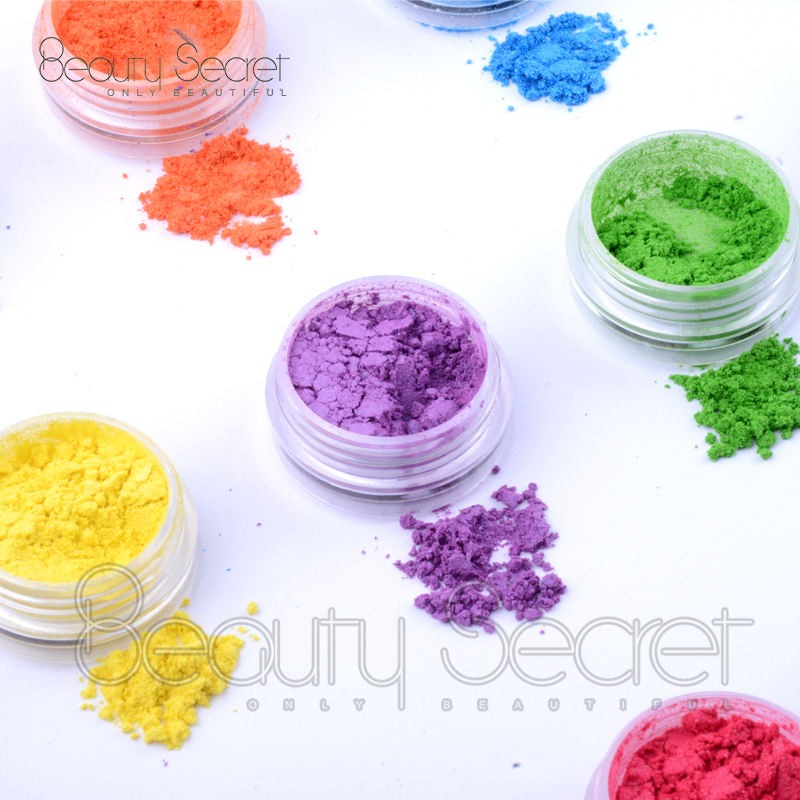 Cosmetics pigment loose powder face glitter shimmering shiny eyeshadow